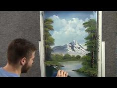 A landscaped oil painting in just 18 minutes.   By Kevin Hill