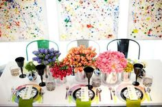 Watercolor Table Wow!
