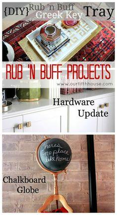 rub 'n buff projects