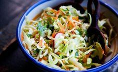 Leve salada de repolho