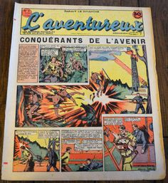 L'aventureux 1ere Annee 1936 N 5 : Conquerants de L'avenir