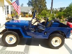 1947 Willys CJ-2A - Photo submitted by Thomas Yellich.