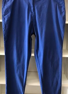 Kupuj mé předměty na #vinted http://www.vinted.cz/damske-obleceni/skinny-kalhoty/18516902-krasne-modre-kalhoty-ms-vel-48