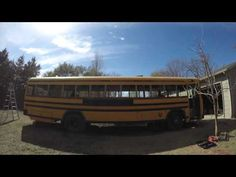 3b6246ffc4a Transcendence Episode 8 - Roof Raise Time Lapse Bus Conversion - YouTube  School Bus Rv Conversion