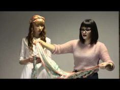 scarf tutorials via liberty london