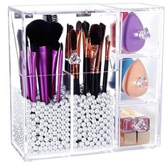 Lifewit Langforth 5mm Thick Acrylic Makeup Organizer Case... https://www.amazon.com/dp/B01N9JV7CZ/ref=cm_sw_r_pi_awdb_x_97JQybYFHSGEE