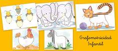 Fichas de grafomotricidad para infantil