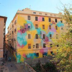 Zaragoza, Spain. Arte urbano. Festival Asalto2013. Calle Las Armas. Rosh  @Roshni Patel