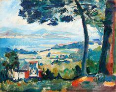 AuctionArt   Henri Charles MANGUIN (1874-1949)