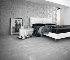 Forma by Apavisa Relief effect porcelain wall tile creating a striking pattern in 3 formats, 2 finishes and in 4 subtle colours. www.apavisa.com