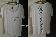 Créer son t-shirt Divergent - Top Trends Divergent Shirt, Divergent Fandom, Divergent Trilogy, Divergent Insurgent Allegiant, Divergent Tattoo, Divergent Outfits, Divergent Clothes, Tris Tattoo, Fandom Fashion