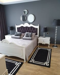 This Bursa House Doesn& even Have a Stylish Corner! Bedroom Furniture Design, Girl Bedroom Designs, Living Room Designs, Classic Bedroom Decor, Bohemian Bedroom Decor, Home Room Design, Dream Home Design, Living Room Decor Curtains, Dressing Room Design