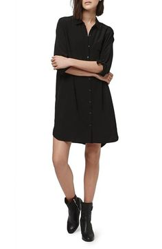 Black Shirtdress. Topshop.