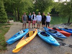 The gang on the Cumberland river, ky 2013...28+ miles