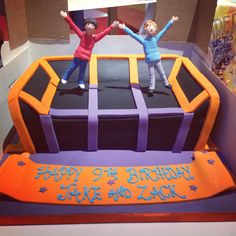 Party cake of 2015! #party #cakeideas #bounce #bouncingmen