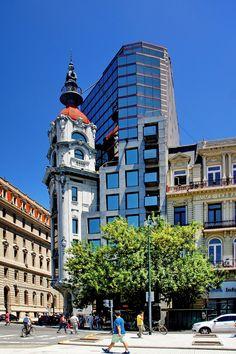 Art Nouveau y el postmodernismo, una foto de Buenos Aires, Sur | TrekEarth
