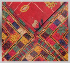 VINTAGE BALUCH EMBROIDERY Baluch Embroidered by tcEclecticImages
