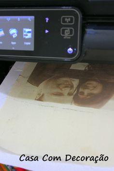 Casa Com Decoração- Blog de Decoração: Como imprimir em tecido usando uma impressora jato de tinta