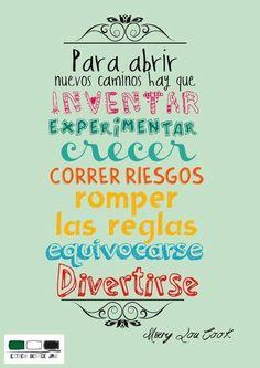 Abrir Nuevos Caminos #inventar #emprender #libertadintegral
