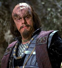 "Christopher Lloyd as Kruge - ""Star Trek III: The Search for Spock,"" 1983."