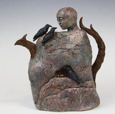 Jayne Harris - Ancient Storytellers teapot