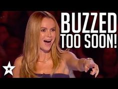 Watch the funny mistake moments when the judges (Amanda Holden, Simon Cowell) buzzed too early on Britain's Got Talent. What did you think abou. Britain's Got Talent Judges, America's Got Talent, Bgt Auditions, Too Soon, Amanda Holden, Britain Got Talent, Simon Cowell, In This Moment, Youtube