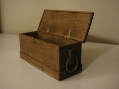 sea chest hinges by graceewhite, via Flickr