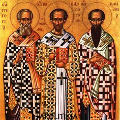Clement of Rome, Ignatius of Antioch and Polycarp of Smyrna. These are the apostolic fathers and the ones who carried out the faith once all the apostles were dead. They had personal contact with the Twelve Apostles. Thus they provide a link between the Apostles—who had personal contact with Jesus—and the later generations of Church Fathers, which includes the Christian apologists, defenders of orthodoxy, and developers of doctrine.