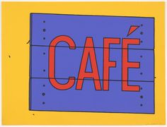 Patrick Caulfield - what's not to like?