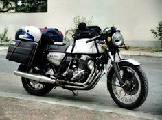 Honda CB750 F1 - took me right round Europe in the early '80s