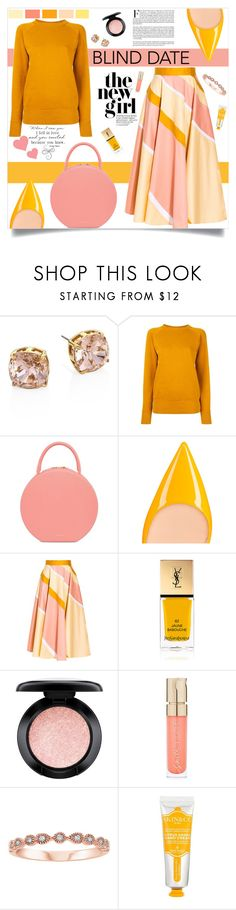 """""""Dress to Impress: Blind Date"""" by southindianmakeup1990 ❤ liked on Polyvore featuring Tory Burch, Étoile Isabel Marant, Christian Louboutin, Roksanda, Yves Saint Laurent, MAC Cosmetics, Smith & Cult and Skin&Co Roma"""