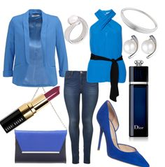 Blue Petite #fashion #outfit #mode #style #look #trend #nobeliostyle #luxury