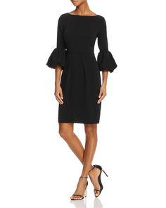 52cfe0111c3 Laundry by Shelli Segal Puff-Cuff Dress Fall Fashion Trends