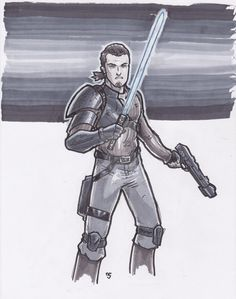 Kanan Jarrus - Star Wars Rebels by Alexander463 via @deviantART