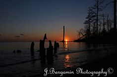Outer Banks NC Local Artists Facebook Post: Cool Night, Warm Sunset, photographer credit: J. Bargamin Photography.