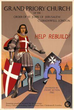 Malta, Kingdom Of Jerusalem, Knights Hospitaller, Military Orders, Jaguar, Postcards, Catholic, Medieval, Saints
