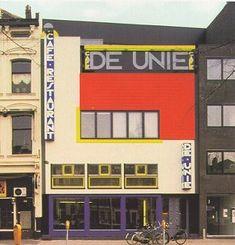 Chapter 23 - De Stijl - Architecture - Cafe De Unie, 1924 - 1925; Rotterdam, Netherlands; J.J.P.Oud