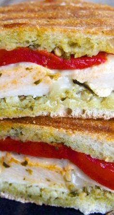 Pesto Chicken Panini Recipe: