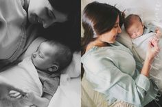 Baby Deacon//newborn family photography by Heather Essian
