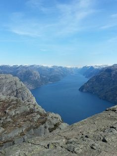 Norwegian nature/ Preikestolen