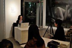 2013年2月22日。キュレーター拝戸雅彦氏による特別講座。