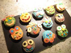 DIY Cupcakes for Boys Birthday.
