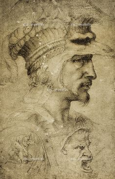 Dibujo original de Miguel Ángel