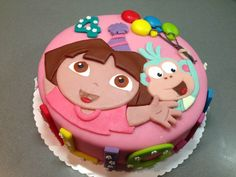 Marvelous Photo of Dora Birthday Cakes . Dora Birthday Cakes Dora Birthday Cake Torte Per Tutti Harleys Dora Birthday Dora Birthday Cake, Friends Birthday Cake, Dora Cake, 3rd Birthday, Birthday Ideas, Fete Julie, Birthday Cake Pictures, Different Cakes, Birthday Cakes
