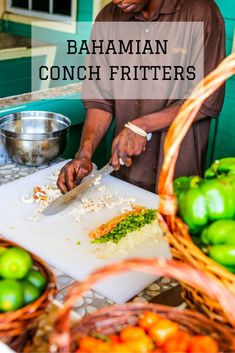 Authentic conch fritter recipe, straight from the Bahamas.