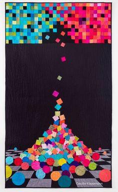 """Desprendimiento"" 104 x 182cm Cecilia Koppmann 2016"