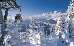 Austrian Alps for snowboarding
