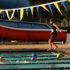 JCC triathlon swim section 2012
