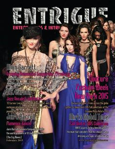 February  2015 issue features  Couture  Fashion  Week  NYC