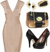 Put an edgy spin on pastels and deco glam for a summer party night.